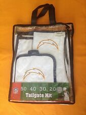 San Diego Chargers NFL Tailgate Kit-Kitchen/Apron/Pot Holder/Mit By McArthur