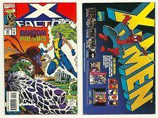 X-FACTOR (1986) #95 POLARIS & RANDOM APPEARANCE FORGE HAVOK QUICKSILVER MARVEL