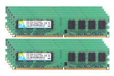 10pcs 1GB PC2-6400U DDR2 800Mhz Intel Desktop RAM Memory DIMM 240Pin D DUOMEIQI