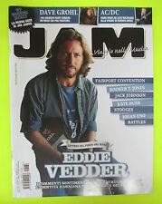 Rivista JAM 182/2011 Eddie Vedder Fairport Convention Foo Fighters Battles No*cd
