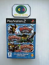 😍Jeu Sony Playstation 2 Pack Collection Ratchet And Clank PS2 PAL Complet TTB😍