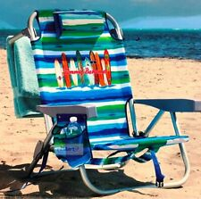 2019 Tommy Bahama Backpack Cooler Chair Storage Pockets Beach Pool Camping Green