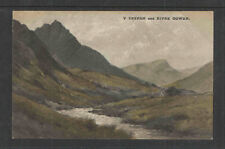 1910s Y Tryfan And River Ogwen England Postcard