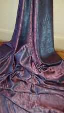 1M two tone purple coloured  paisley print dress /lining  Brocade fabric  58 ""