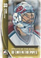 2013-14 ITG Between the Pipes Hockey #134 Patrick Roy GOTG Colorado Avalanche