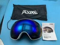 Acure SG01 Ski Goggles Otg Frameless Snow Snowboard Goggles, Dual Lens
