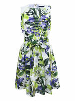 Tommy Hilfiger Women's Floral-Print Fit & Flare Dress