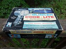 VINTAGE Hasbro Hassenfeld Bros. Twin NAVY Blinker Code Lite battery operated toy