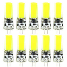 10pcs LED Bulb G4 COB-2508 12-24V Fit RV Boat Light Crystal Lamp White 6500K