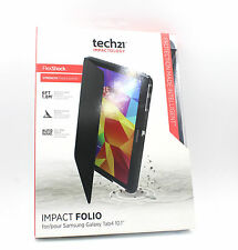Tech21 Impact Folio FlexShock Case Cover For Samsung Galaxy Tab 4 10.1 - Black