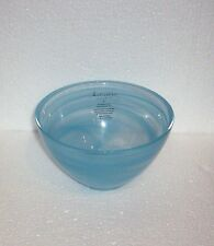 4 ARTISTIC ACCENTS Blue  Opal GLASS Bowl  NEW