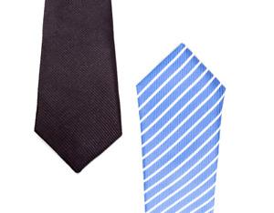 SUIT LAB - Baby Boys Striped Necktie | Formal Tuxedo | Christening Wedding