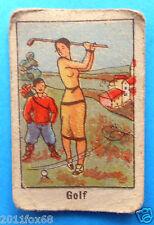 figurines cromos cards figurine umoristiche anni 30 40 v.a.v. vav golf sports ss