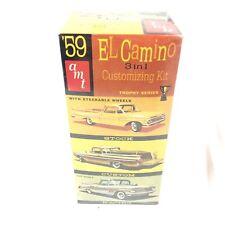 New Sealed AMT ERTL 8669 1959 El Camino 3 in 1 Customizing Model Car Kit Trophy