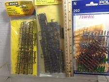 HO scale  N scale scenery details Three packages  Free ship discontinued