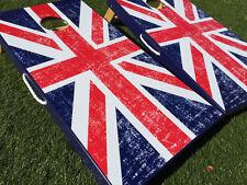 UK British Flag Cornhole Boards