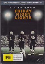 FRIDAY NIGHT LIGHTS - BILLY BOB THORNTON - TIM MCGRAW - DEREK LUKE - DVD - NEW -
