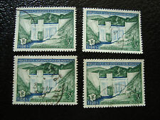 NOUVELLE CALEDONIE timbre yt n° 287 x4 obl (A4) stamp new caledonia (F)