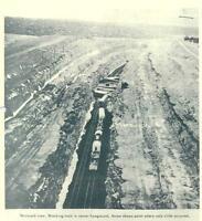 Santa Fe ATSF Railroad Train Wrecks  1912-1965  PDF Files on CD Rom
