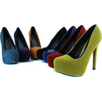 Women Sexy Party Pointy Almond Toe Dress Casual High Heel Stilettos Pump Shoes