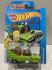 HOT WHEELS THE SIMPSONS THE HOMER HW CITY 58/250 SEALED UNOPENED VHTF