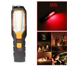 COB LED Work Light Rechargeable Magnetic Lamp Flashlight SOS Emergency Torch