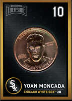 Yoan Moncada 2018 Baseball Treasure MLB Coins Copper  Chicago White Sox FD3197
