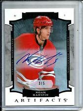 Noah Hanifin 15/16 Upper Deck Artifacts Autograph Rookie #3/5