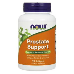 NOW® Prostate Support - 90 Softgels, Fresh, Made in USA, Free Shipping