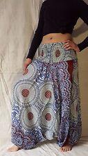 Boho Genie Harem Gypsy Hippy Casual Trousers Tribal Hmong Yoga Baggy Women Pants