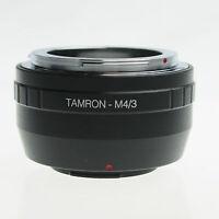 Tamron Adaptall 2 Lens to Micro 4/3 M4/3 Camera Mount Adapter GF3 GH3 Panasonic