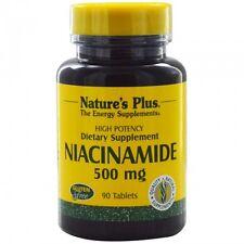 Niacinamide, 500 mg, 90 Tablets - Nature's Plus
