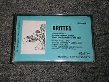 Britten~Saint Nicolas~Cantata for Tenor~Clifton Ware~SEALED/NEW~FAST SHIP