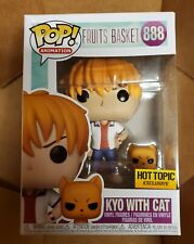 Funko Pop Animation #888 Kyo With Cat Fruits Basket Hot Topic Exclusive