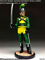 Private Wurttemberg 1805  Tin toy soldier 54mm figurine sculpture HAND PAINTED