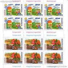 EUROPA CEPT 2006 INTEGRATION - RUMÄNIEN 6065-66 KLEINBOGEN **