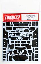 Studio27 ST27-CD24019 Alfa Romeo 155 V6 T1 ITC Carbon Decal Set for Tamiya 1/24