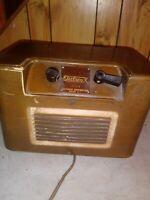 Vintage 1950s lectradio electronx radio c 235 rare estate find working condition