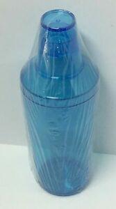 BARGAIN BUYS BLUE PLASTIC DRINK SHAKER, FREE SHIPPING