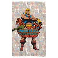 Masters of the Universe Cartoon HEROES He-Man Battle Cat Lightweight Beach Towel