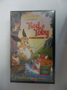 RED E TOBY NEMICIAMICI  VHS Classici Disney NUOVA SIGILLATA cartoni animati 1995