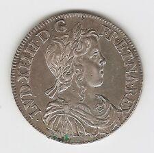 1/2 ÉCU MÈCHE LONGUE LOUIS XIV  1648  K