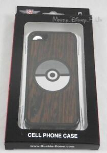 New Nintendo Pokemon Pokeball Wood iPhone 5C Cell Phone Clip Case Made In USA