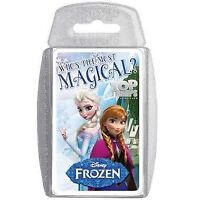 Frozen Top Trumps Card Game