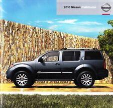 2010 10 Nissan Pathfinder original sales brochure Mint