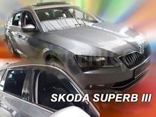 SKODA SUPERB III 5-portes 2015-présent Deflecteurs de vent 4-pcs HEKO Bulles