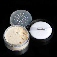 3color Face Translucent Smooth Foundation Waterproof Loose Finish Powder Makeup #3 Natural Color