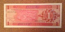 Netherlands Antilles Banknote. 1 Gulden. Dated 1970
