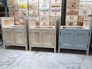 Belfast/Butler sink unit - solid wood -freestanding kitchen unit