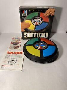Vintage Simon 1986 Milton Bradley Electronics Computer Game Tested Works
